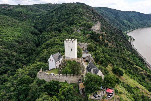 Burg Liebenstein, Bornhofen, Rhine River Valley, Germany