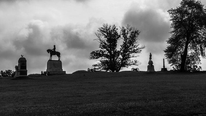 gettysburg battlefield, virginia