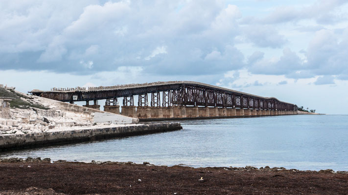 old railroad bridge, the keys, florida