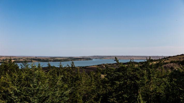 the missouri river, chamberlain, south dakota