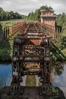 Old german built Railroad Bridge, Mazeikiai, Lithuania