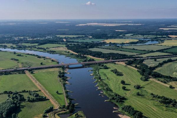 River Elbe, Vockerode, Germany