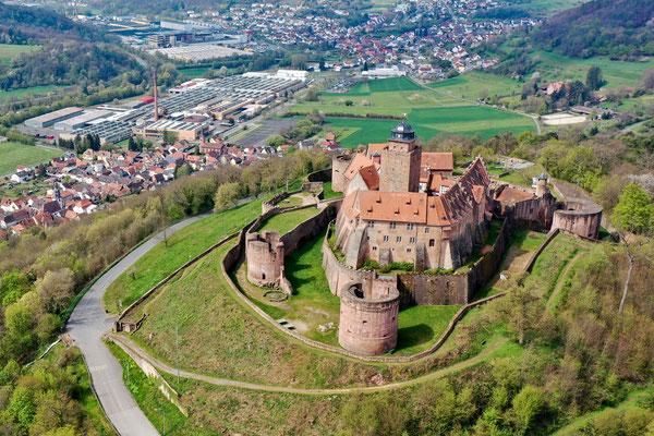 Burg Breuberg, Höchst-Breuberg, Germany