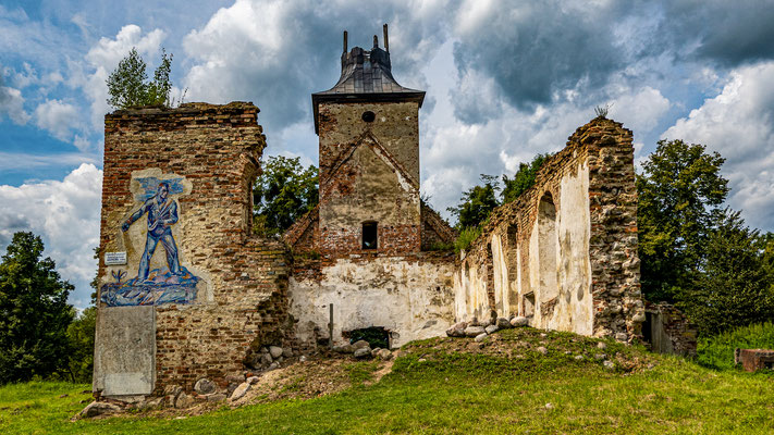 Church Ruin,  Zelenopol'ye,(Borchersdorf), Kaliningrad Oblast, Russia