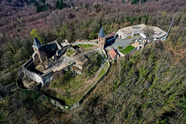 Frankenstein Castle, Darmstadt, Germany