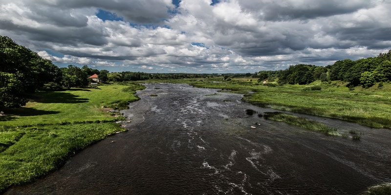 River Venta, Kuldiga, Latvia