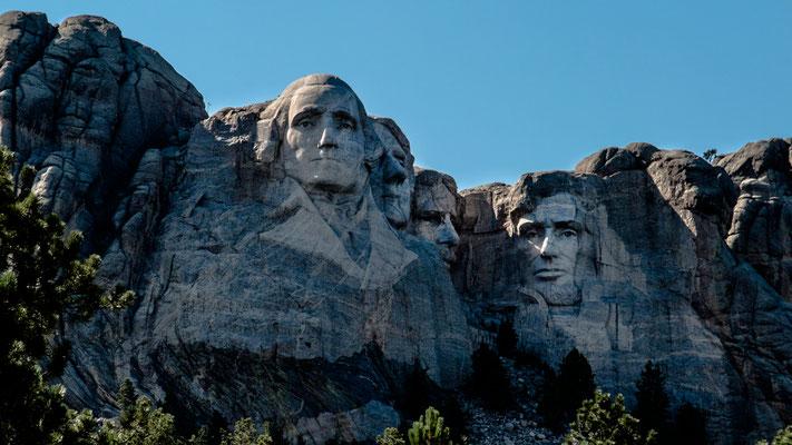 mount rushmore memorial, black hills, south dakota
