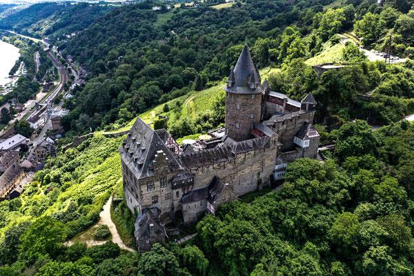 Burg Stahleck, Bacharach, Rhine River Valley, Germany