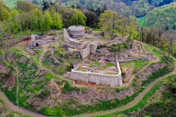 Ruine Tannenburg, Seeheim, Germany