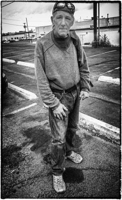 wayne, man from the street, great falls, montana