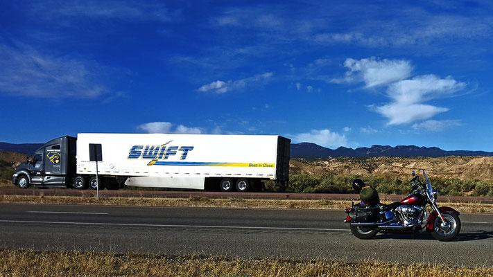 on the way to teec nos pos, navaho county, arizona