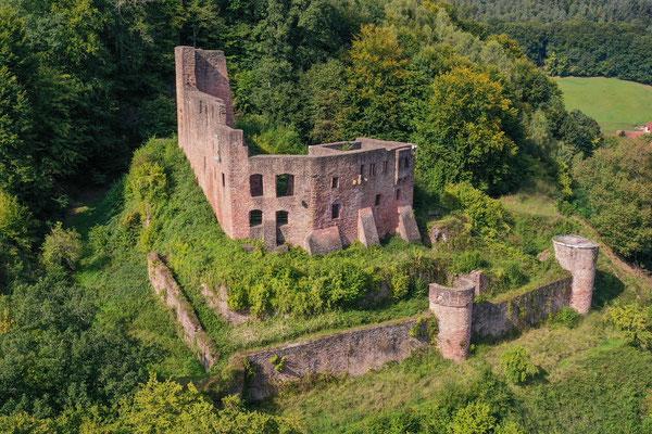 Ruine Gammelsbach, Oberzent-Gammelsbach, Germany