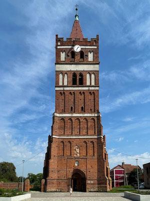 Church Tower, Pravdinsk (Friedland), Kaliningrad Oblast, Russia