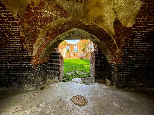 Church Ruin, Pravdinsk (Gerdauen), Kaliningrad Oblast, Russia