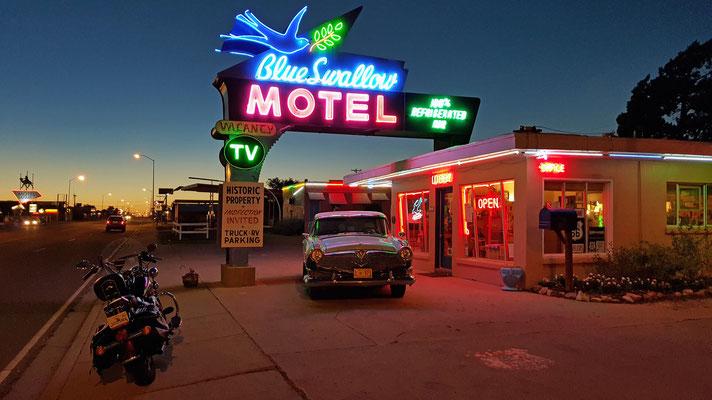 the blue swallow motel, route 66, tucumcari, new mexico