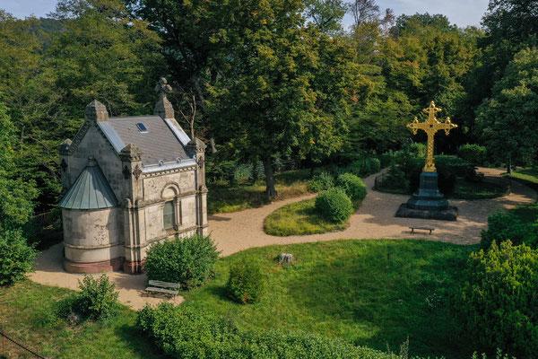Tomb of the Battenbergs/Mountbattens, Jugenheim, Germany