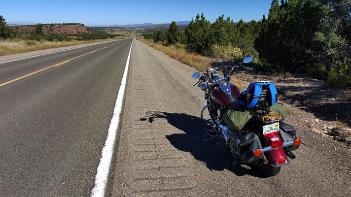 towards taos, north of santa fe