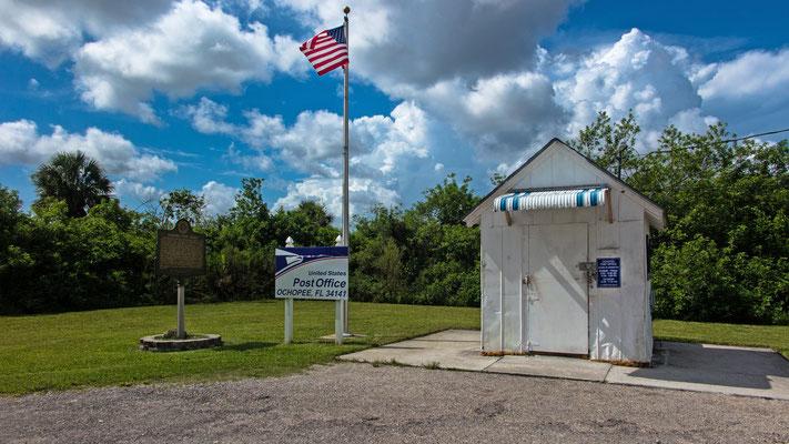 historic post station, everglades, florida