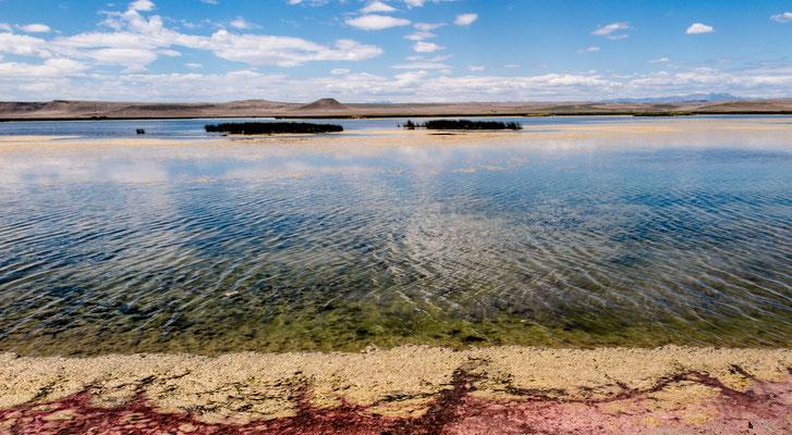 lake on hwy 89, towards browning, montana