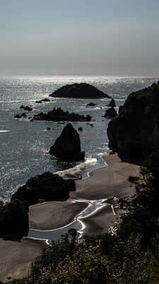 south of fort bragg, hwy 1, california