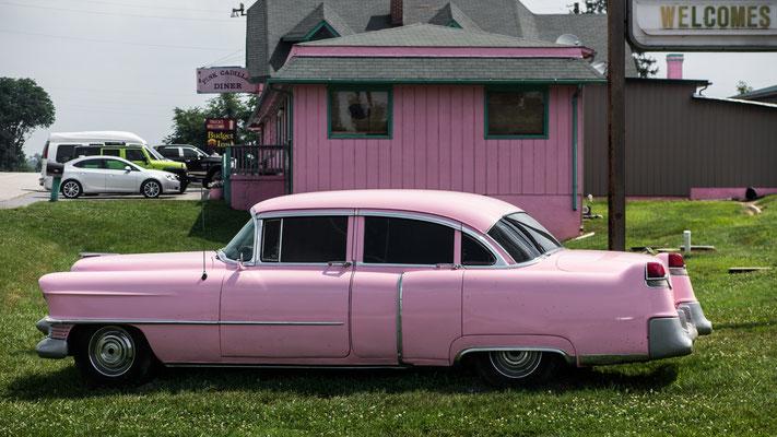 pink cadillac diner, natural bridge, virgina
