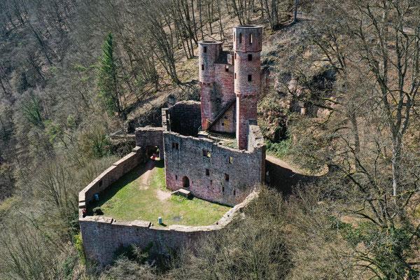 Burg Schwalbennest, Neckarsteinach, Germany