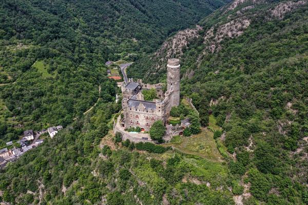 Burg Maus, St. Goar, Rhine River Valley, Germany