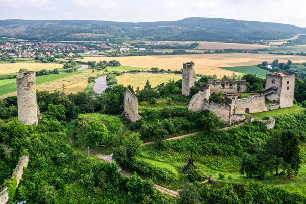 Ruine Brandenburg, Herleshausen, Germany
