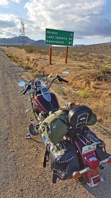 towards lake isabella, california