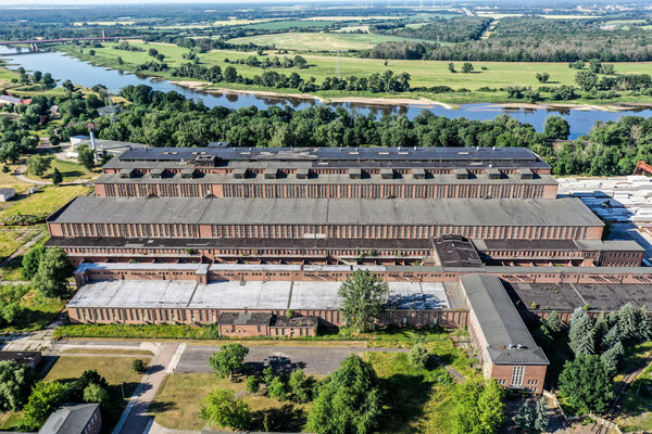 Old Power Plant, Vockerode, Germany