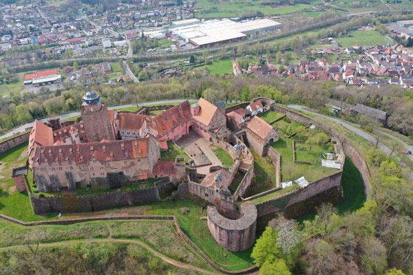 Burg Otzberg, Hering, Germany