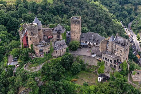 Schönburg, St.Goar, Rhine River Valley, Germany