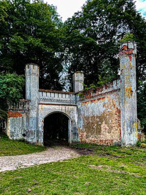 Castle Ruin Entrance, Zheleznodorozhny (Gerdauen), Kaliningrad Oblast, Russia