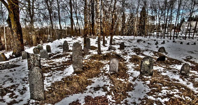 Jewish cemetary, Naujoji Akmenė, Lithuania