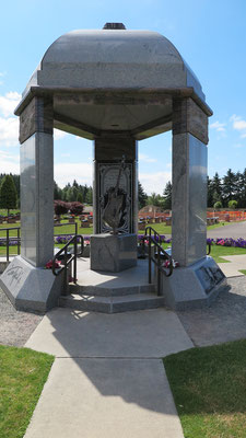jimi hendrix memorial, greenwood memorial park, renton, washington