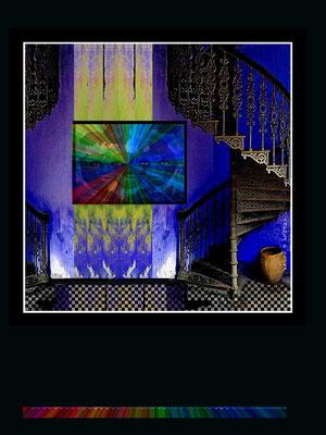 Unter vier Augen-Multi Media-Druck Alu DiBond 60x80 glänzend
