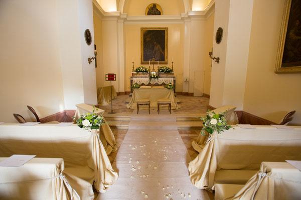 Borgo Boncompagni Ludovisi - interno Chiesa