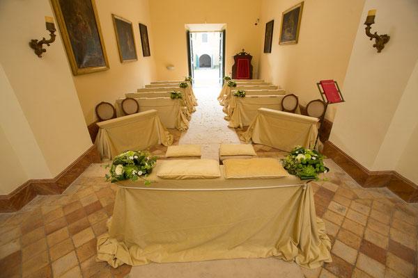 Borgo Boncompagni Ludovisi - Church interior