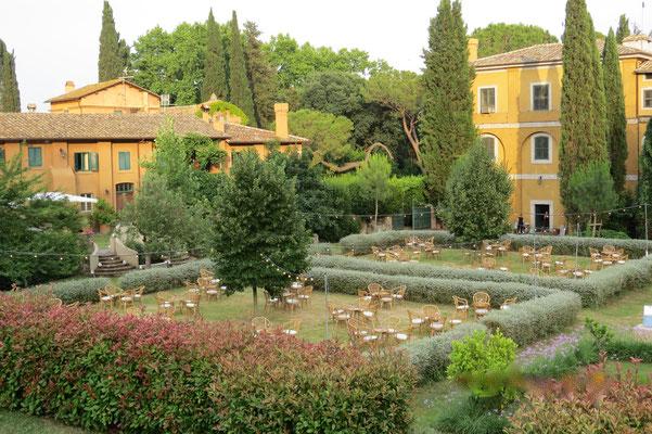 Borgo Boncompagni Ludovisi - giardini