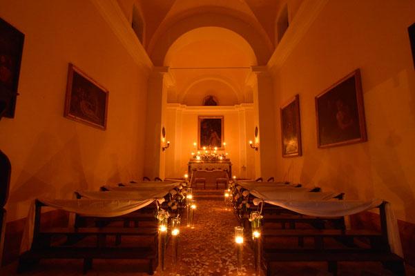 Borgo Boncompagni Ludovisi - Chiesa interno