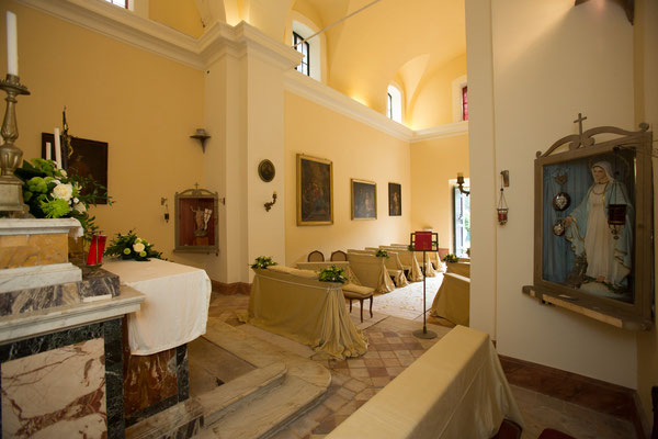Borgo Boncompagni Ludovisi - Church interior