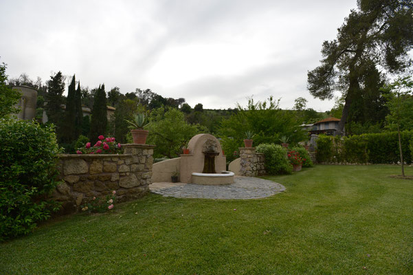 Borgo Boncompagni Ludovisi - сады