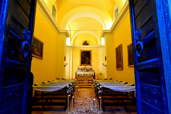 Borgo Boncompagni Ludovisi - interior Church