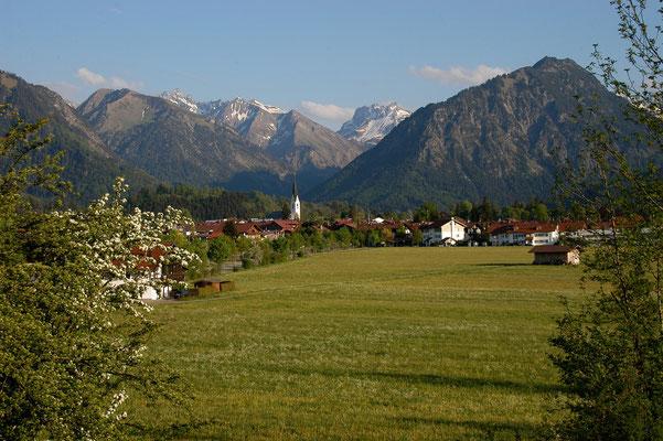 Oberstdorf vom Klingenbichl
