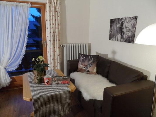 geräumiges Einzelzimmer mit Westbalkon
