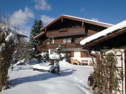 Wintertraum im Haus Zufriedenheit