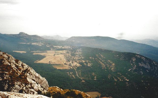 Vue depuis la montagne Ste Baume