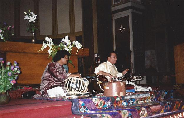 Ustad Usman Khan en concert