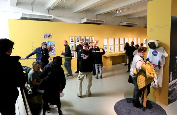 Blick in einen Ausstellungssaal