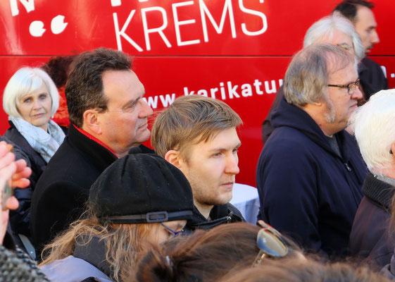 Der ehemalige Innenminister Karl Schlögl